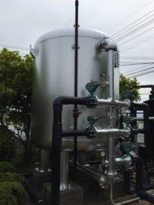 徳島県 某工場タンク塗装工事