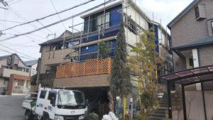 堺市 堅田様邸外壁等改修工事