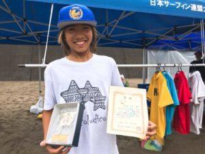 全日本サーフィン選手権 大阪支部予選 優勝!