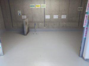 新大阪 某マンション ゴミ置き場防水工事